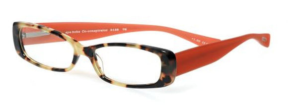 Eyebobs Co-conspirator Tortoise/Orange Eyebobs