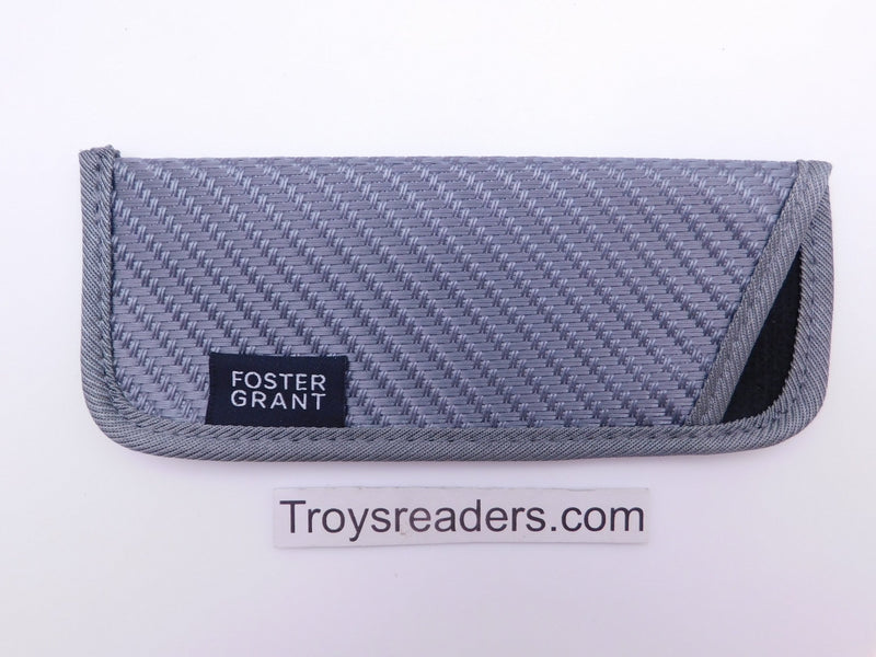 Fabric Glasses Sleeve/Pouch in Eleven Designs Cases Gray