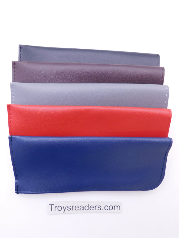 Faux Leather Glasses Pouch in Five Colors Cases