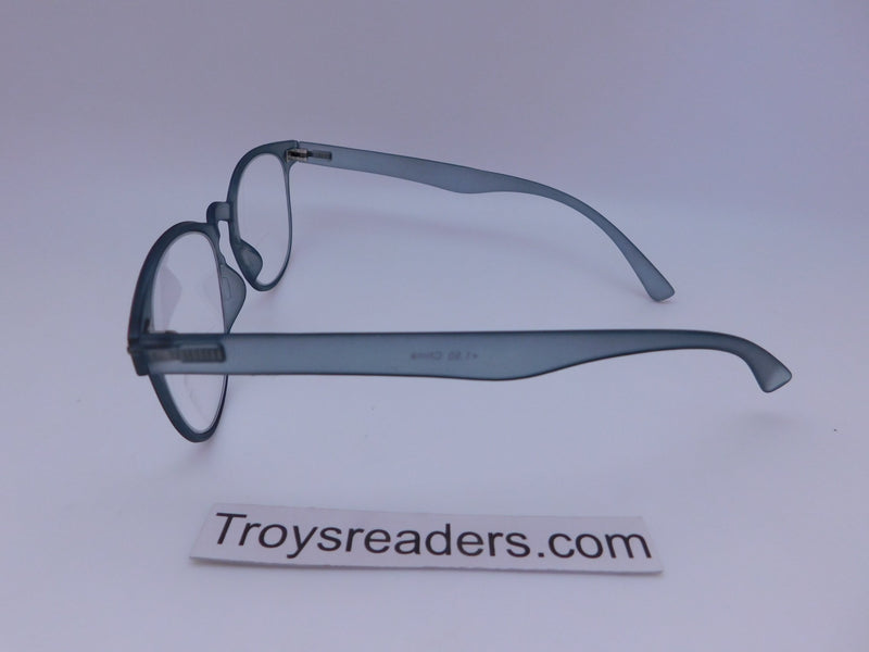 Flex Frame Keyhole Clear Bifocal Reading Glasses in Five Colors Clear Bi-focal