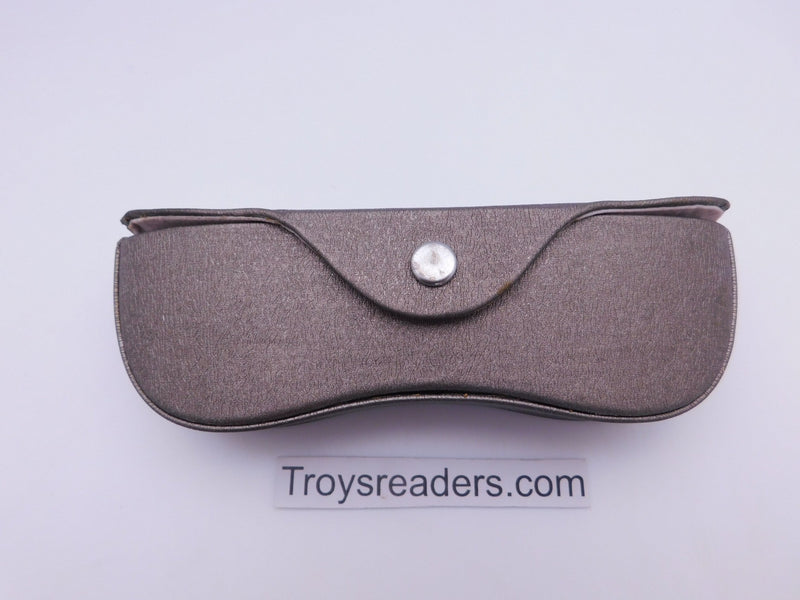 Gold Contoured Hard Case for Reading Glasses Cases
