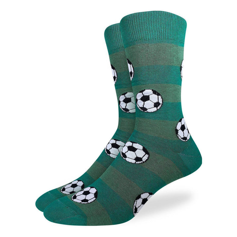 Good Luck Socks Men Crew Soccer Socks