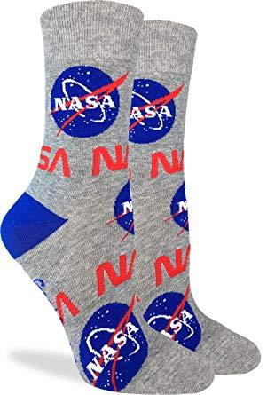 Good Luck Socks Women Crew Nasa Socks