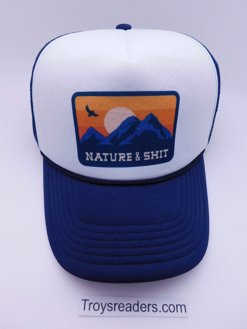 Headline Nature & Shit Trucker Cap Hats