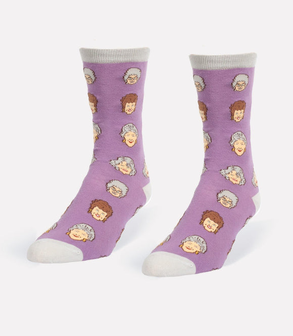 Headline Unisex S/M Crew Socks Golden Girls Socks
