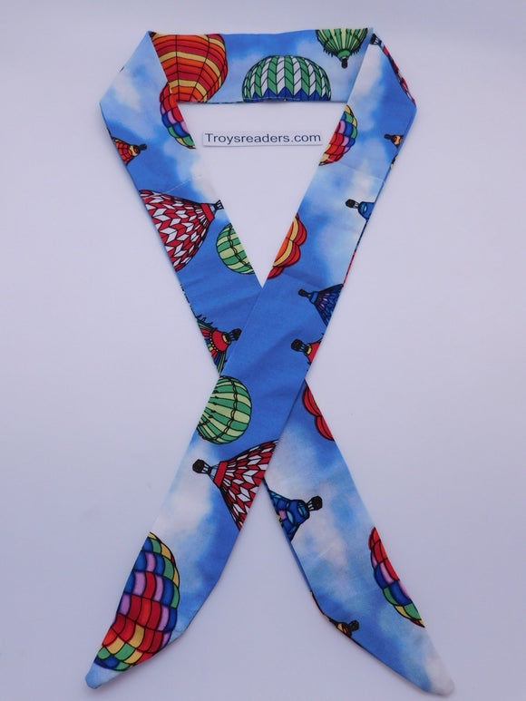 Hot Air Balloons On Blue Cool Tie Cool Ties