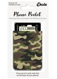 iDecoz Camo Faux Leather Pocket Idecoz