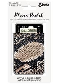 iDecoz Python Faux Leather Pocket Idecoz