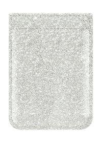 iDecoz Silver Glitter Faux Leather Pocket Idecoz
