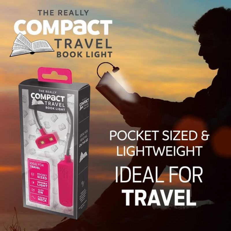 If The Really Compact Travel Book Light In Gray Book Light