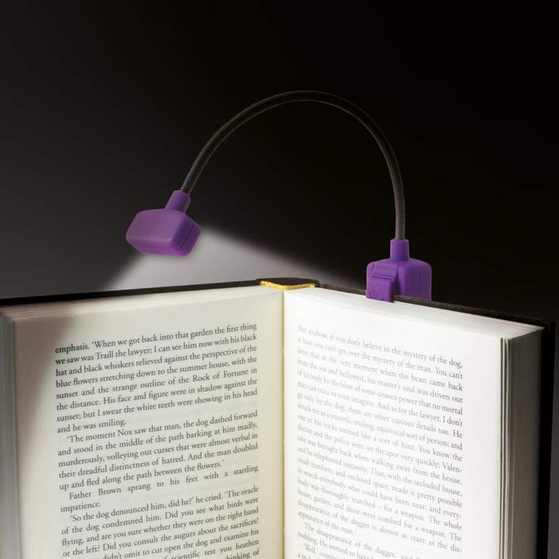 If The Really Compact Travel Book Light In Pink Book Light