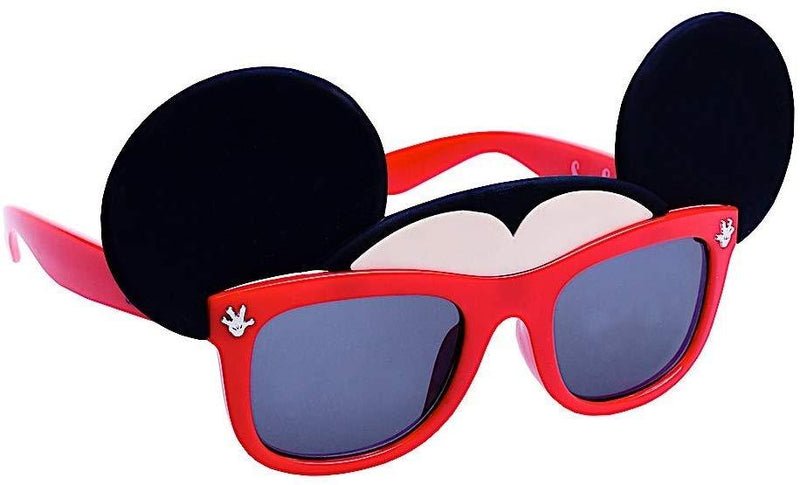 Lil' Red Mickey Glasses Sun-Staches Sun-Staches