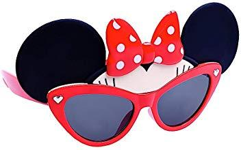 Lil' Red Minnie Glasses Sun-Staches Sun-Staches