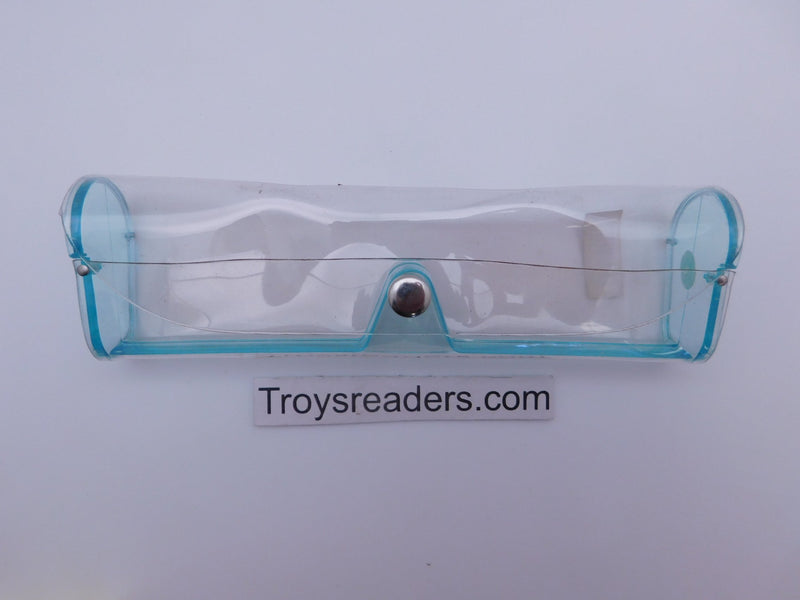 Medium Clear Plastic Case in Sixteen Colors Cases Teal