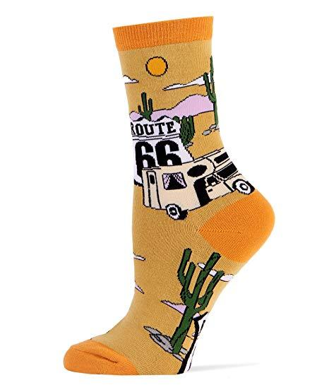 Men Crew Get Your Kicks OOOH Yeah! Socks Socks