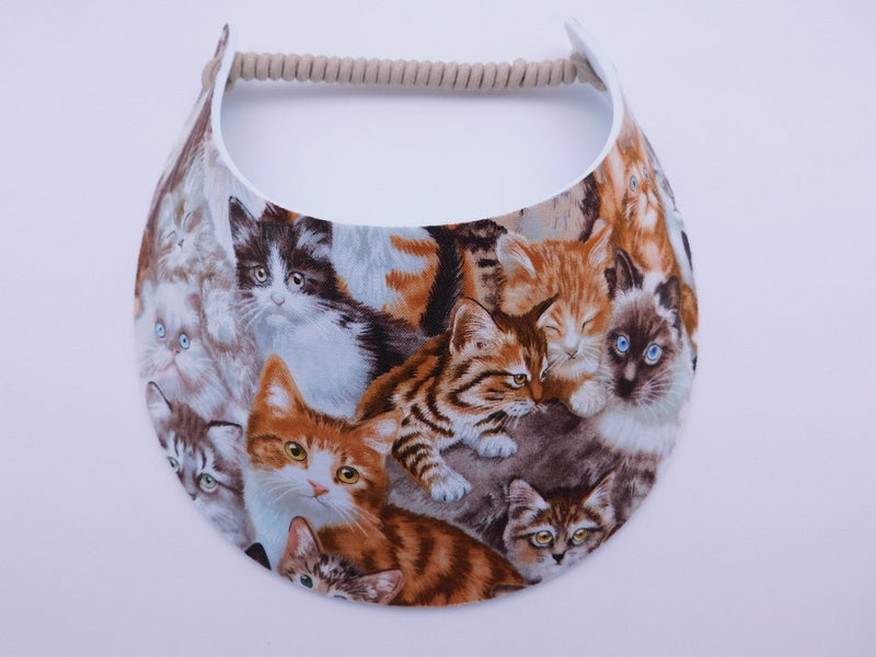 Miracle Foam Sun Visor Cats Foam Visors
