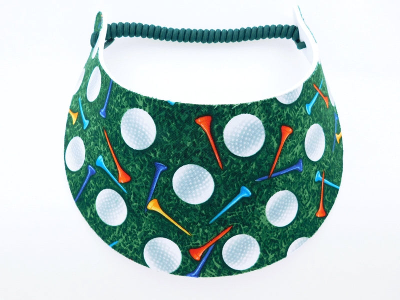 Miracle Foam Sun Visor Golf Balls and Tees Foam Visors