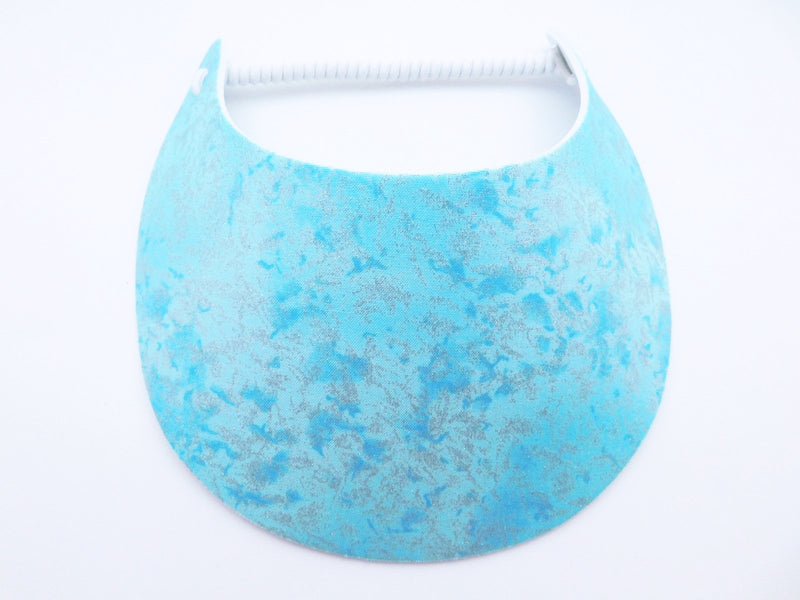 Miracle Foam Sun Visor Light Blue Fairy Dust Foam Visors