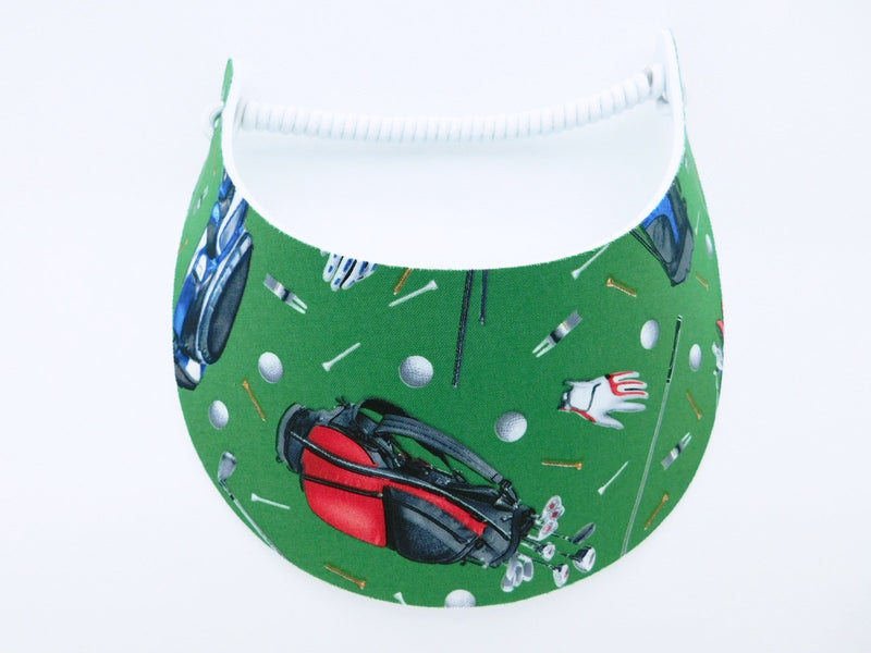 Miracle Foam Sun Visor Men's Golf Equipment on Green Foam Visors Medium Brim