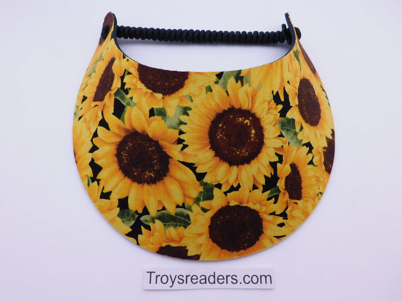 Miracle Foam Sun Visor Sunflowers Foam Visors