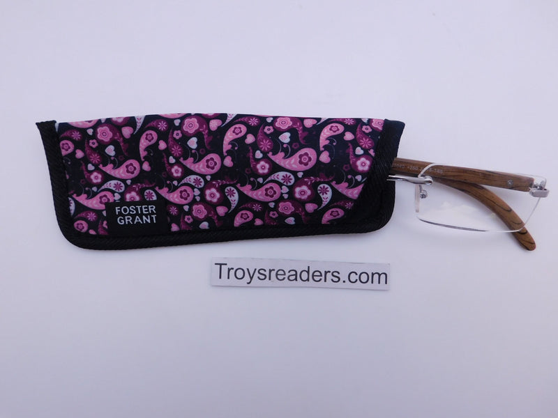 Paisley Glasses Sleeve in Five Designs Cases