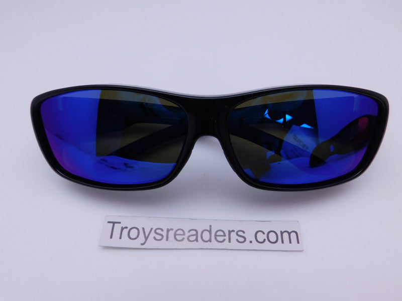 Polarized Mirrored Fit Overs in Two Colors Fit Over Sunglasses Blue Mirror