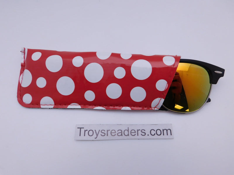 Polka Dog Glasses Sleeve/Pouch Cases