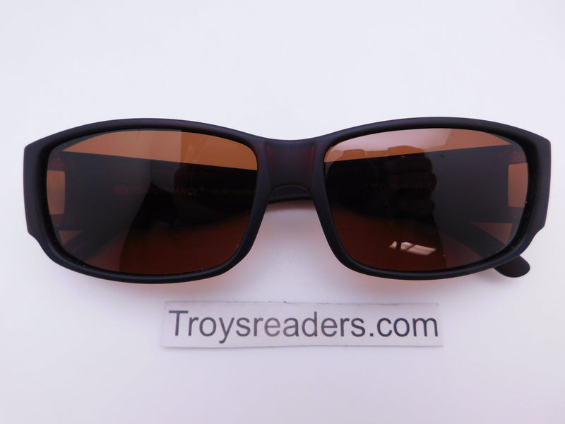 Premium Small Frame Fit Overs in Three Colors Lifetime Guarantee Eyewear Brown Amber