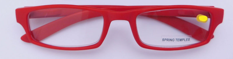 Red +2.75 Soft Touch Stitched Readers Reader with Display