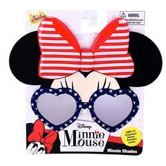 Red White and Blue Minnie Mouse Sun-Staches Sun-Staches