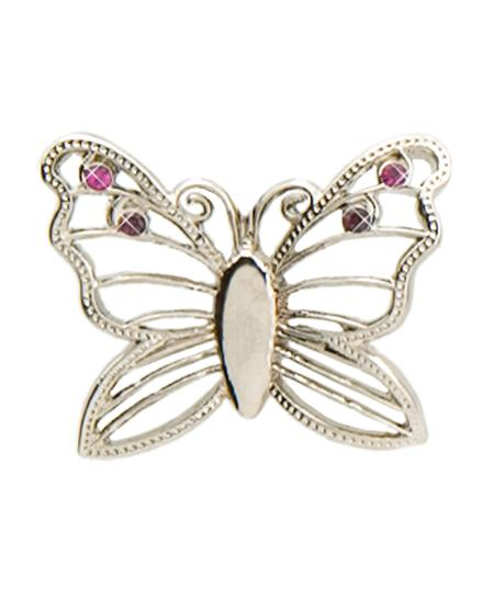 Silver Butterfly Key Finder Purse Key Finder