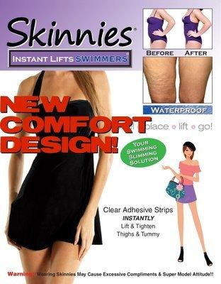 Skinnies Instant Lifts Swimmers Thigh Lift Skinnies Instant Lifts