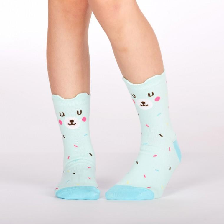 Sock It To Me Bearly Sprinkled Kids Socks