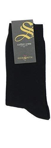 SockSmith Black Crew Socks