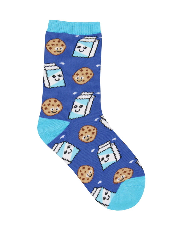 SockSmith Kids Cookies and Milk Socks
