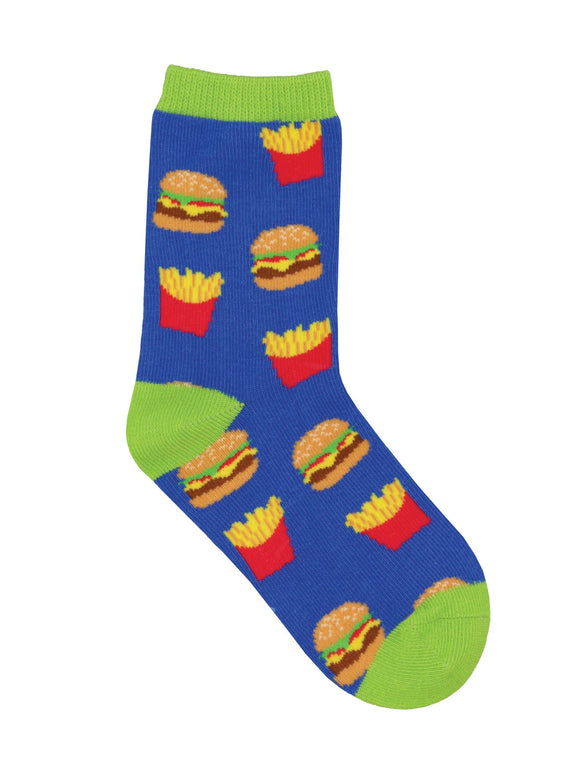 SockSmith Kids Fast Food Socks
