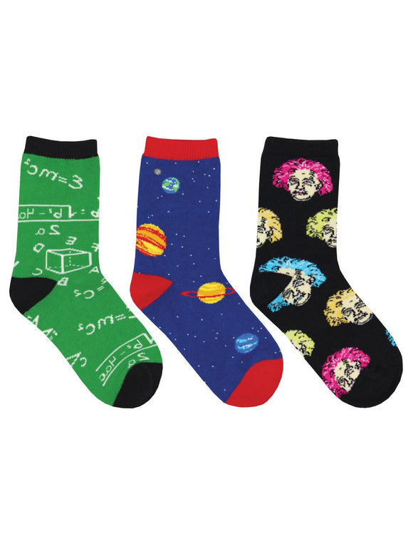 SockSmith Kids Relatively Awesome 3-Pack Socks