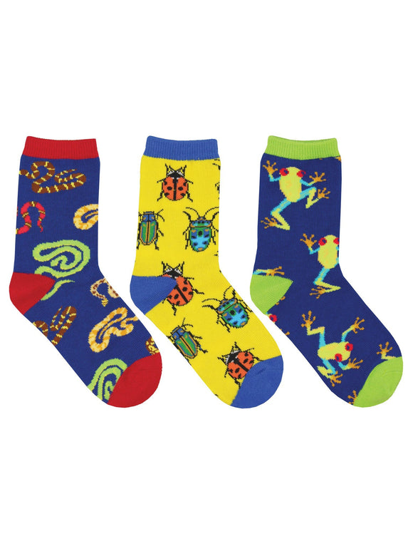 SockSmith Kids Science Camp 3-Pack Socks