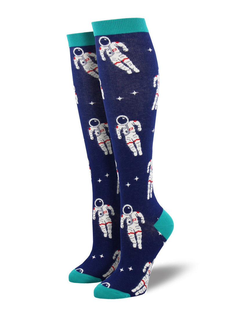 SockSmith Knee High Astronaut Socks