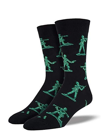SockSmith Men Crew Army Men Socks