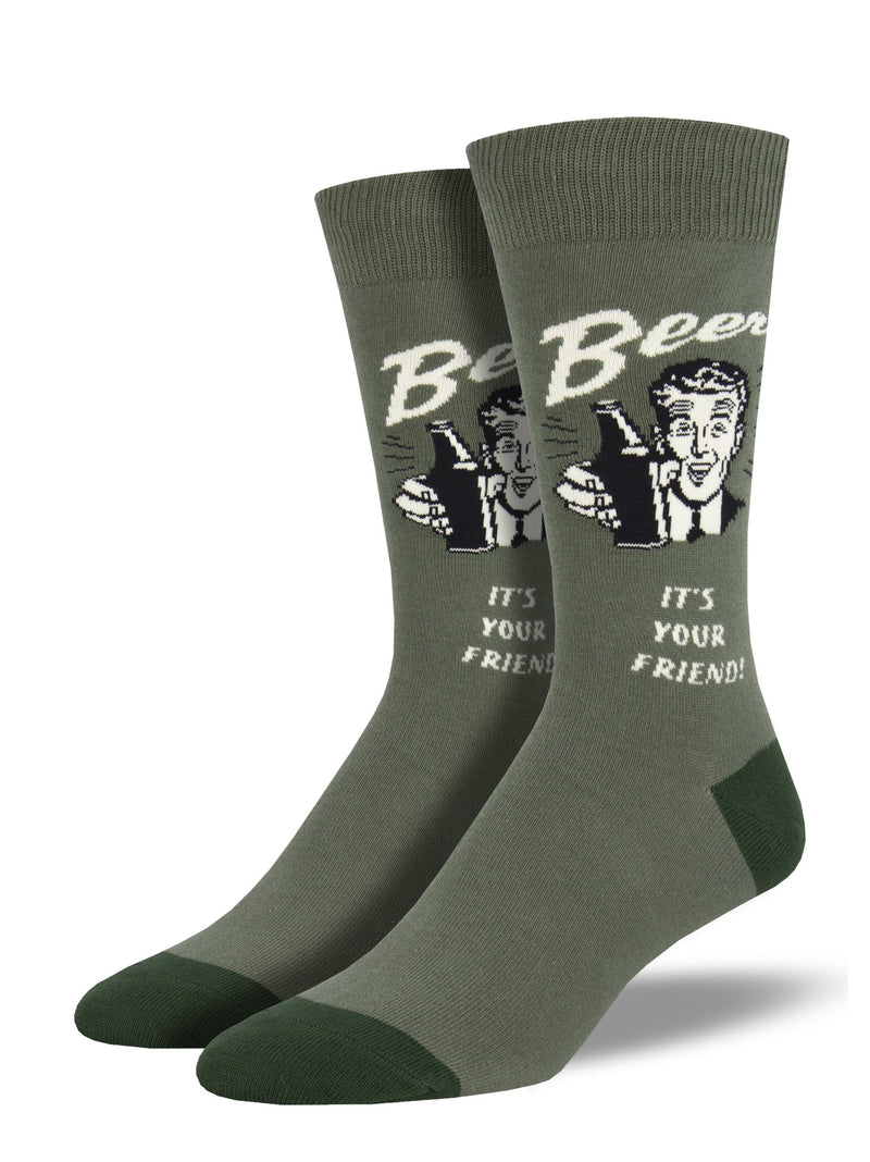 SockSmith Men Crew Have A Beer Socks