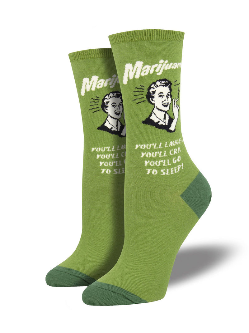 SockSmith Women Crew Mary Jane Socks