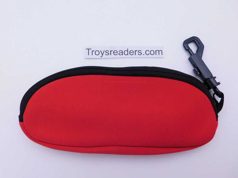 Soft Neoprene Zipper Case In Six Colors Cases Red