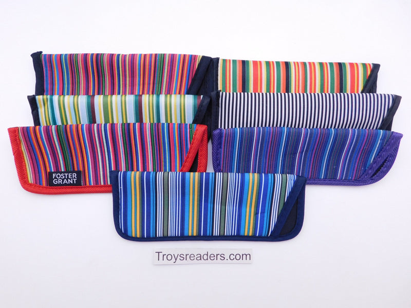 Striped Glasses Sleeve in Seven Designs Cases
