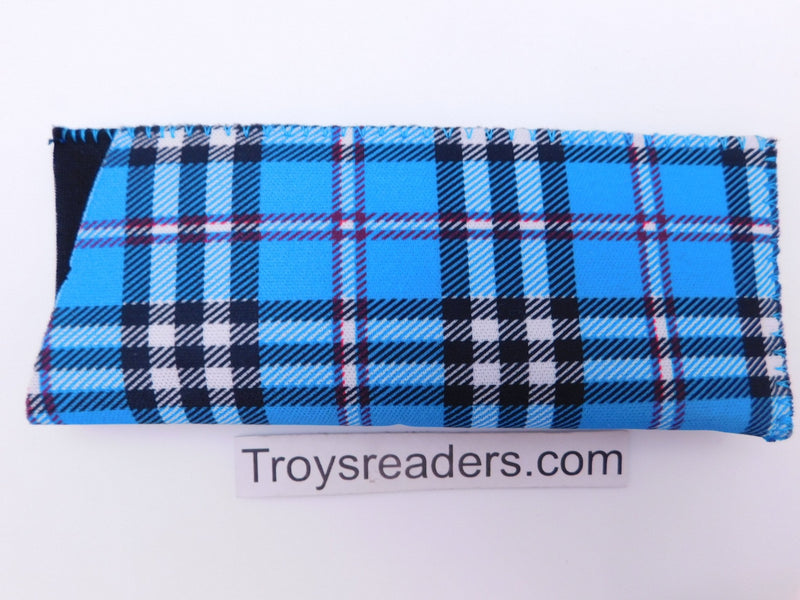 Tartan Scottish Plaid in Five Colors Cases Blue