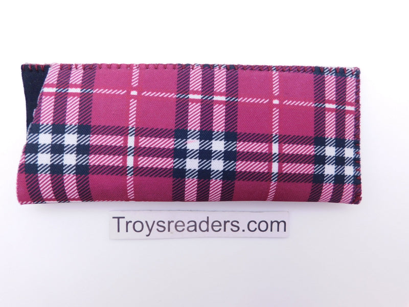 Tartan Scottish Plaid in Five Colors Cases Fuchsia