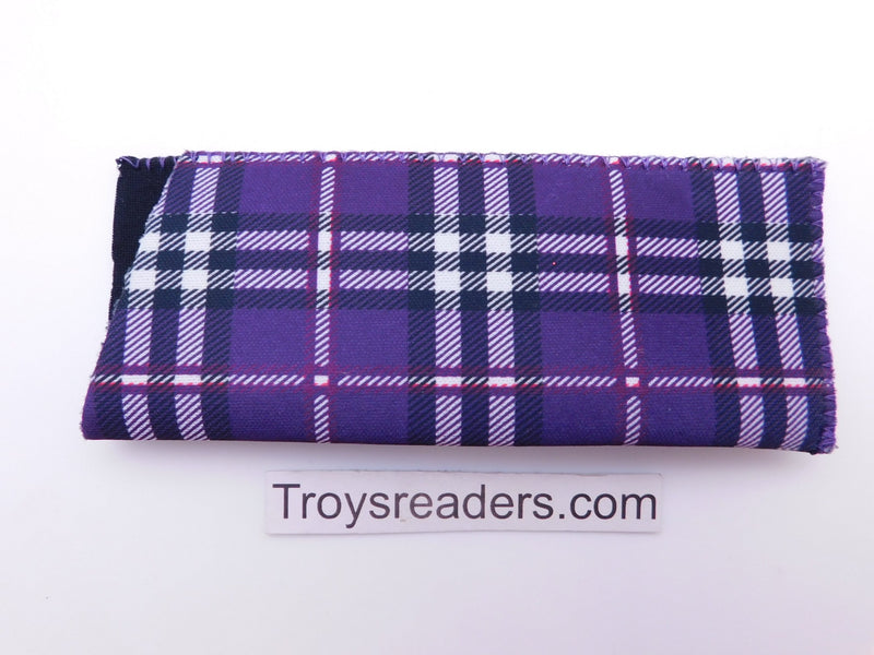Tartan Scottish Plaid in Five Colors Cases Purple