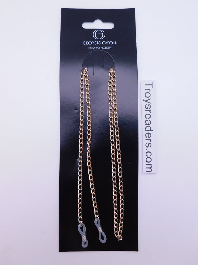 Thick Silver Chain Eyewear Holder Cords