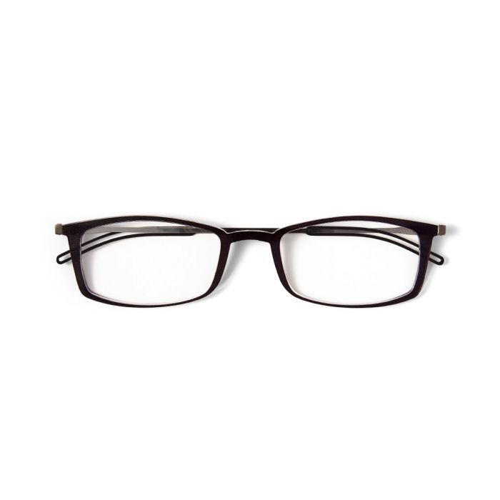 ThinOptics Brooklyn Reading Glasses Thin Optics +1.00 Black