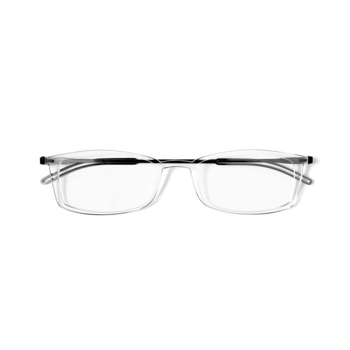 ThinOptics Brooklyn Reading Glasses Thin Optics +1.00 Clear